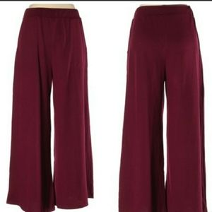 Umgee Knit Wide Leg Pants Large Comfort